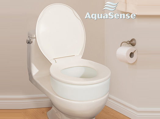 Aquasense Toilet Seat Riser Elongated 770 602 Medplus