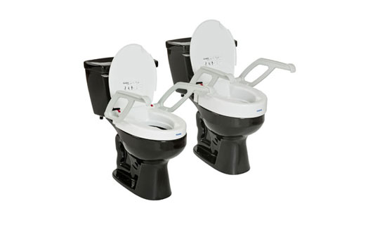 Cool Aquatec Toilet Seat Raiser W Armslid 1535001 Medplus Uwap Interior Chair Design Uwaporg