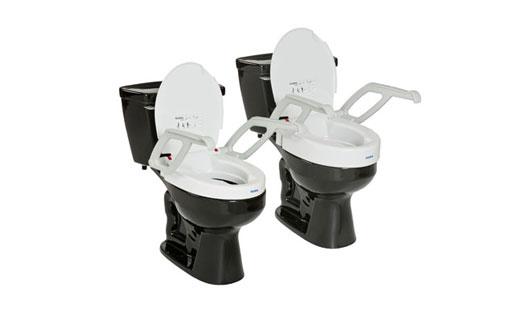 Aquatec Toilet Seat Raiser W Arms Amp Lid 1535002 Medplus